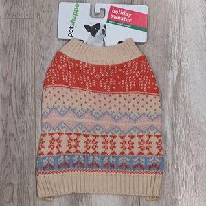 Pet Shoppe Holliday Sweater.